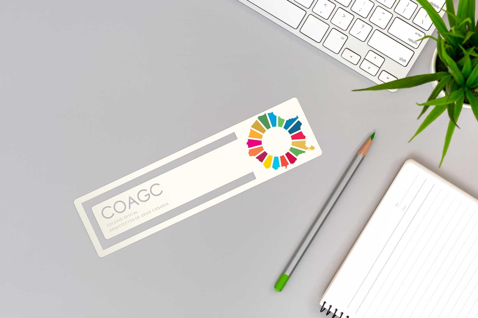 Marcador de libros ODS 2030